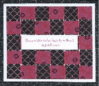 FTLOW: Woven Washi Note Card