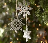 Christmas Ornament  February Snowflake