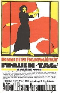 International Women's Day artistic tribute