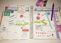 A little Planner/Agenda Kit (Feb)