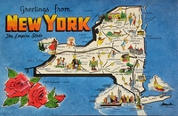 I Love Map Postcards! #3