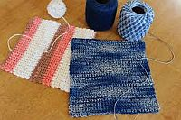 CfC: Crochet Thread Dishcloth