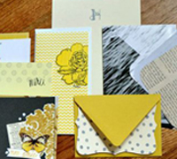 WIYM: Hand Decorated Stationery Set