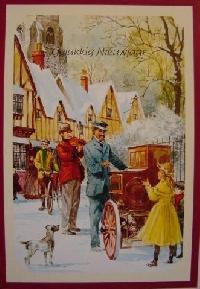 christmas postcard swap #33