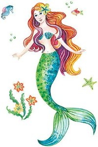 MLU: Stickers for a Mermaid Lover
