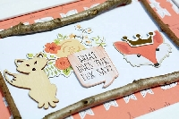 Pocket Letters Swap: Foxes