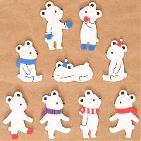 KSU: 25 Bears flake stickers!! =D
