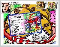 I ♥heart♥ Mail Art - April