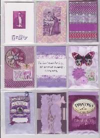 Purple Pocket Letter