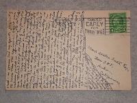 Ugly Postcard #1 - Tiny Writing USA
