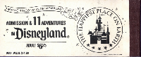 Disneyland Pocket Letter