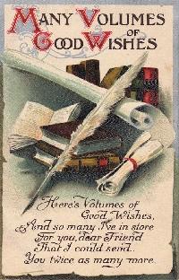 Book THEMED Postcard!