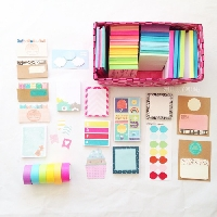 FLMP- Page Flags and Sticky Notes Sampler