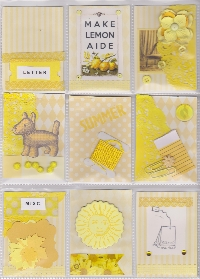 Yellow pocket letter
