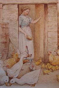 children's book illustration swap #91
