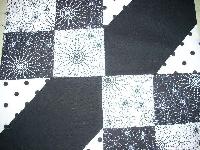 Black & White Quilt Block 12.5