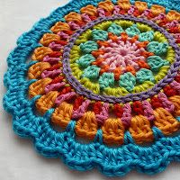 Mandala Placemat   US ONLY