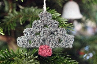 Crochet Christmas Ornament  July
