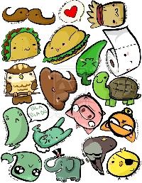 One Sticker Sheet #1