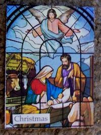 Christmas card as postcard #21 - Nativity