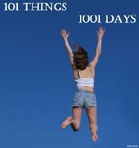 101 Things Progress- July 2015