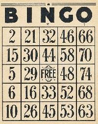VC: BINGO CARD - ATC