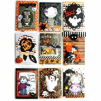 Low Stress Halloween Pocket Letter - USA
