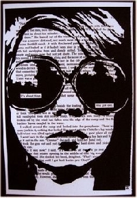 Blackout poetry ATC int. *2