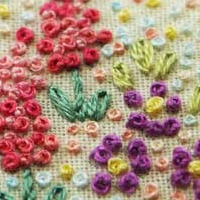 Embroidery Lessons - Knotted Stitches