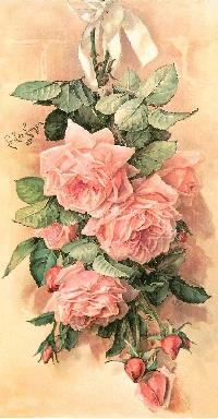 AACG:  Roses & Romance ATC