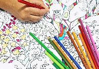 Relaxing colouring pages for adults