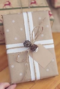 Unloved Present & Nice Christmas Card