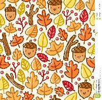 ATC Jams: Fall Colors Background Starter Set