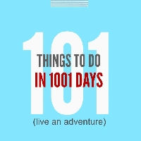 101 Things Progress- September 2015