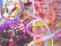 Ribbons, Fibers, & Yarns Oh My!!! #2