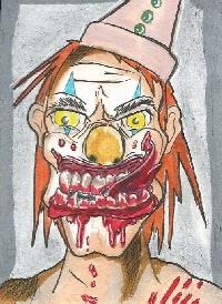 evil creature/character halloween swap -Hand drawn