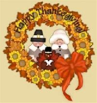Thanksgiving card swap