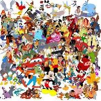 Disney ABC's - M, N & O