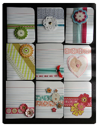 WIYM: Index card & washi tape note card- U.S. Only
