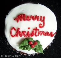Cupcake Toppers - Christmas