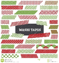 Winter & Christmas Washi Fast Swap