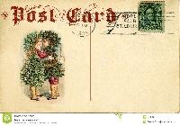Christmas Card to a Postcard