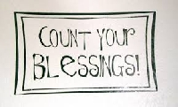 Counting Our Blessings!