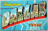 Simple Storebought Postcard Swap