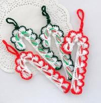 Christmas Ornament Handmade Candy Cane