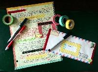 Washi Letter Pick 7 - International