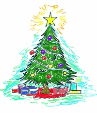 Christmas Card Swap #14 - Christmas Tree
