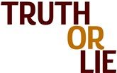 One Lie One Truth Postcard