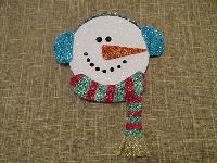 Glitter Snowman Cards