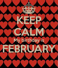 Happy Birthday - February